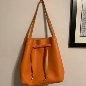 H&M Orange Bag.